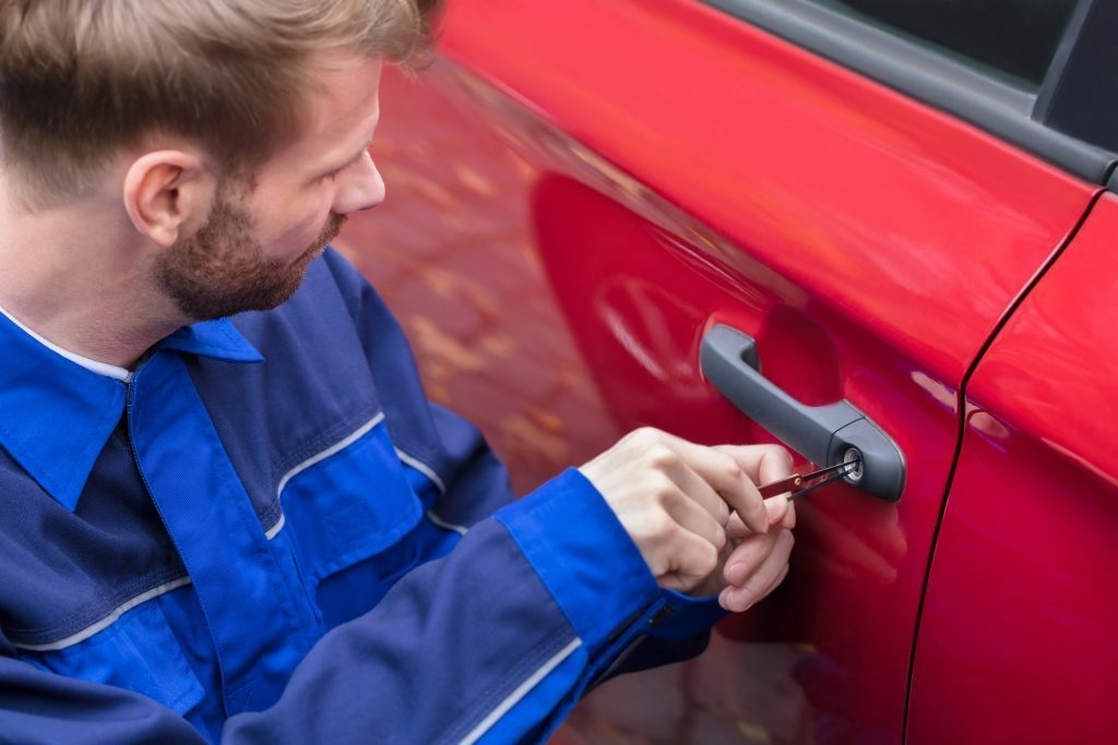 opening a locked car Prestwich
